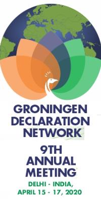 Groningen Declaration Annual Meeting: 15-17 April 2020 in Delhi, India