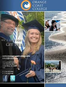 Electronic Brochure for Orange Coast College, California