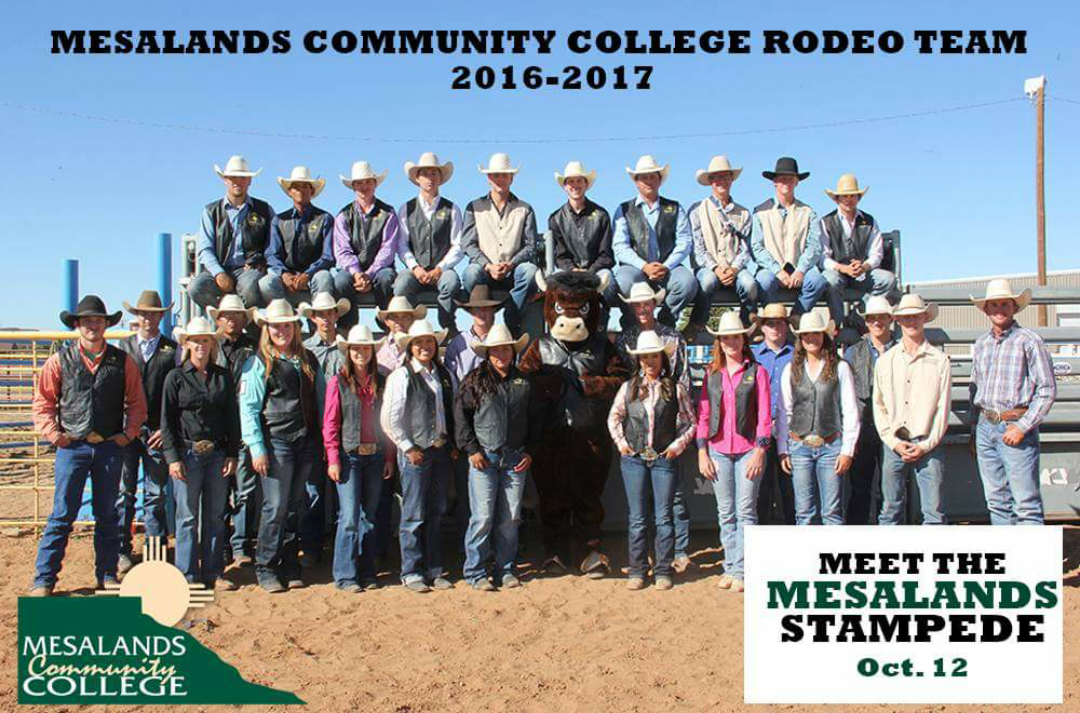 Mesalands Community College Rodeo Team, 2016-17