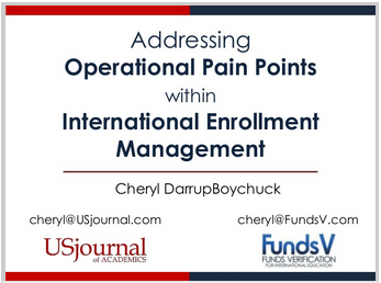 Addressing Operational Pain Points in International Enrollment Management